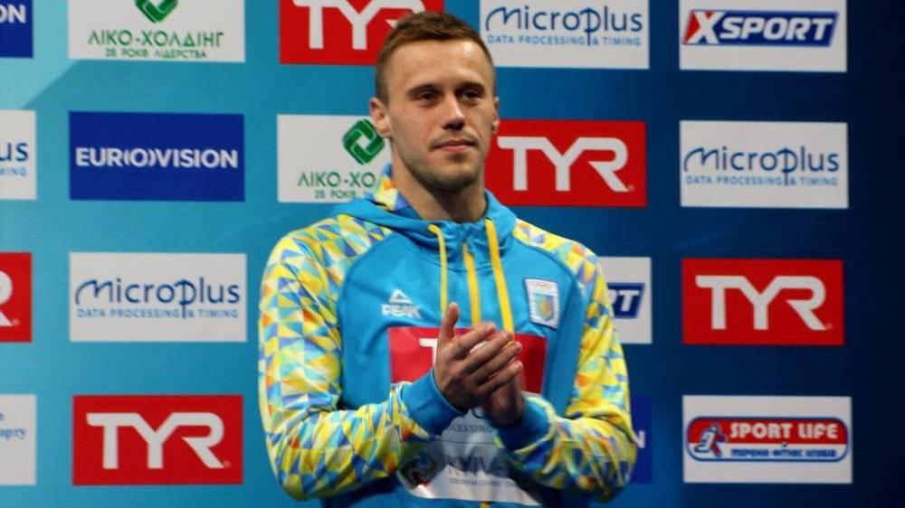 Армієць Олег Колодій став віцечемпіоном Європи зі стрибків у воду