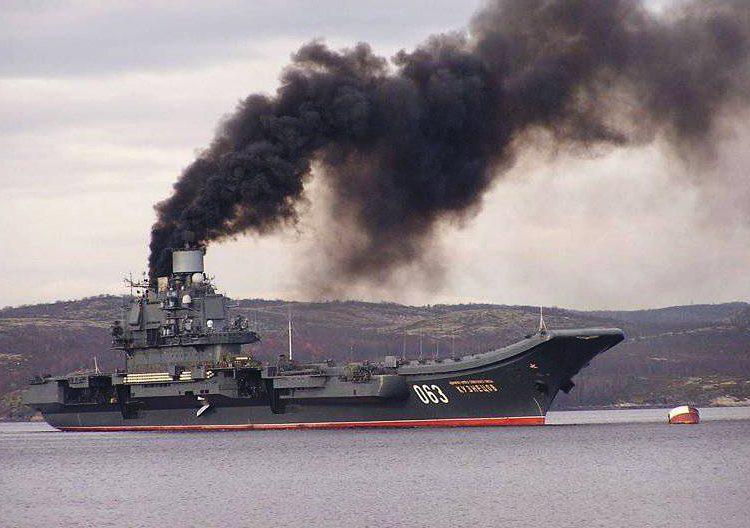 Російський флот загрожує сам собі
