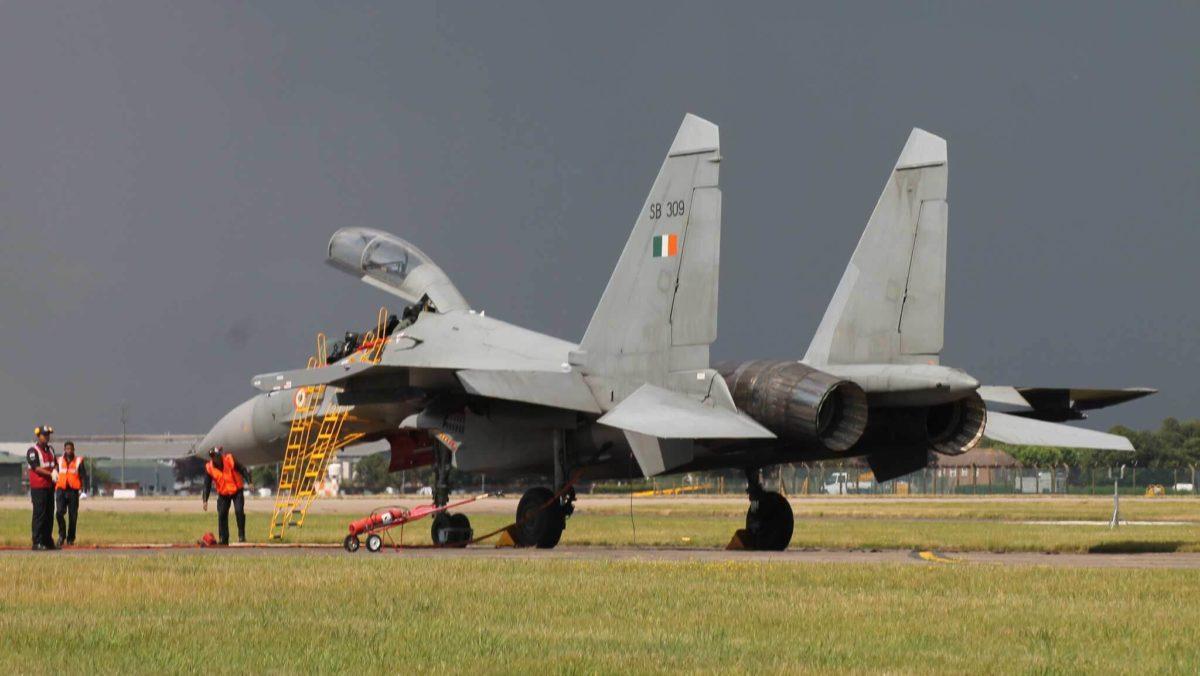 Російський винищувач Су-30 розбився в Індії