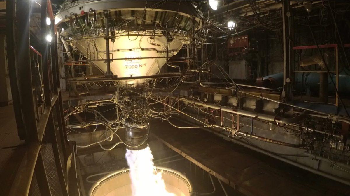 Вперше за часи новітньої історії України проведено випробування ступеня ракети-носія