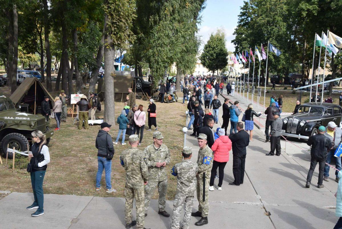75-ту річницю спільної стратегічної операції «Френтік» відзначили на Полтавщині