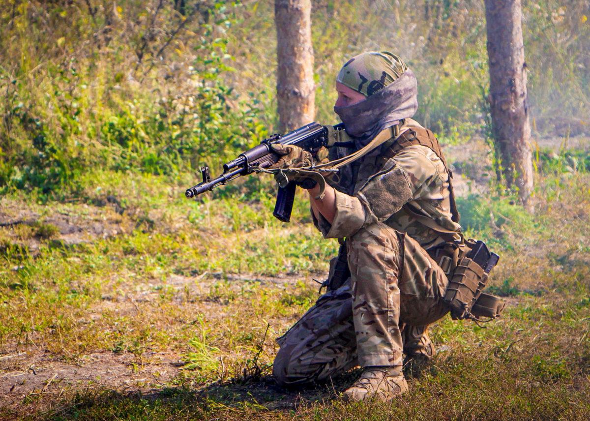 Розвідниця Настя: «Коли війна закінчиться, я приїду додому і обов'язково розкажу мамі, що я була хорошим солдатом»