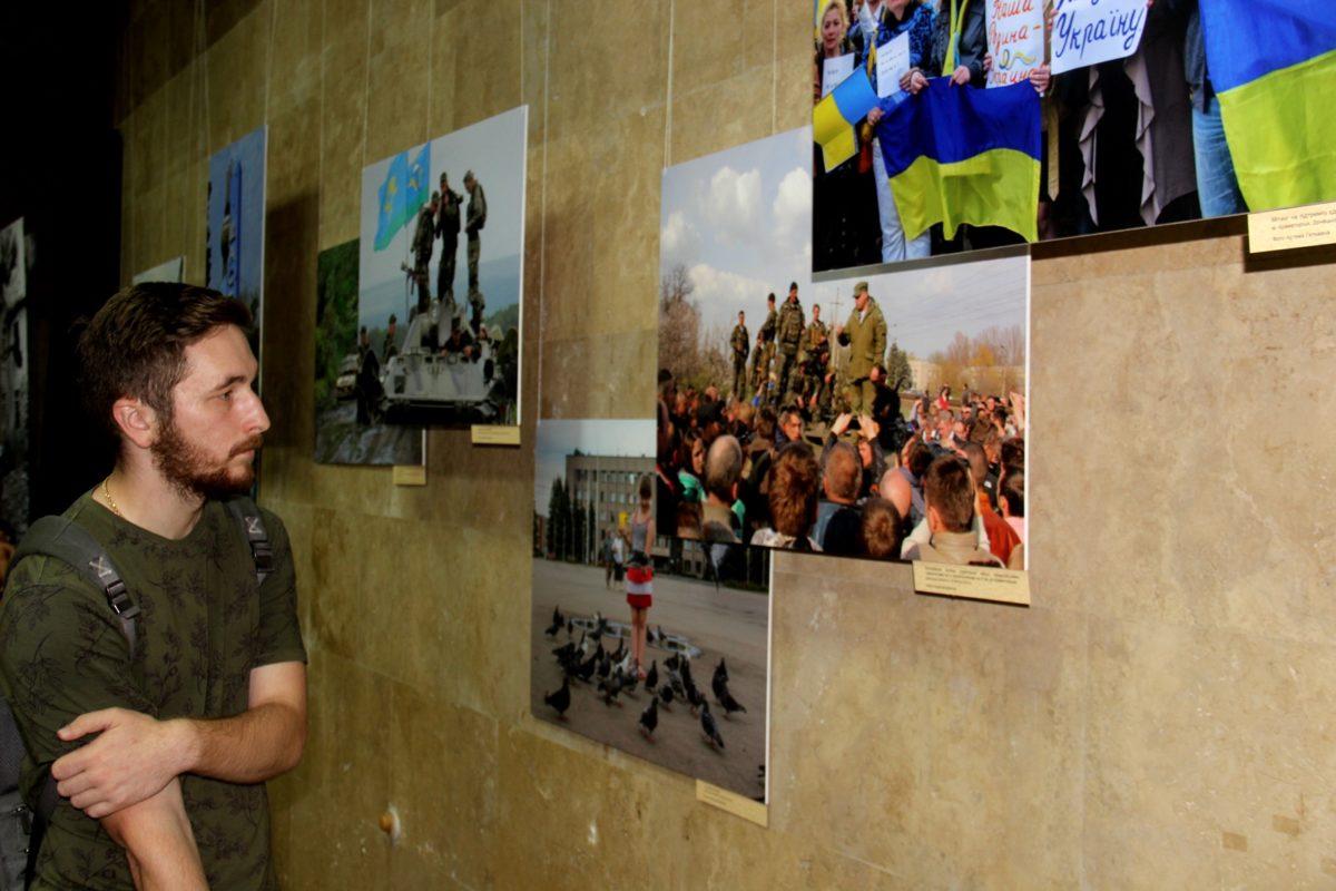 «Український Схід» – наймасштабніша виставка про війну на Донбасі