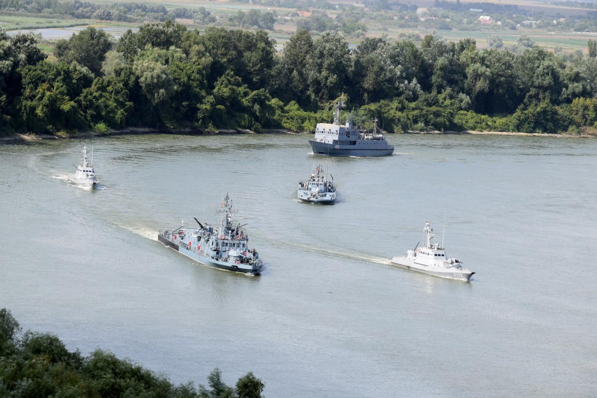 В акваторії річки Дунай стартувало українсько-румунське  флотське навчання Riverine-2019