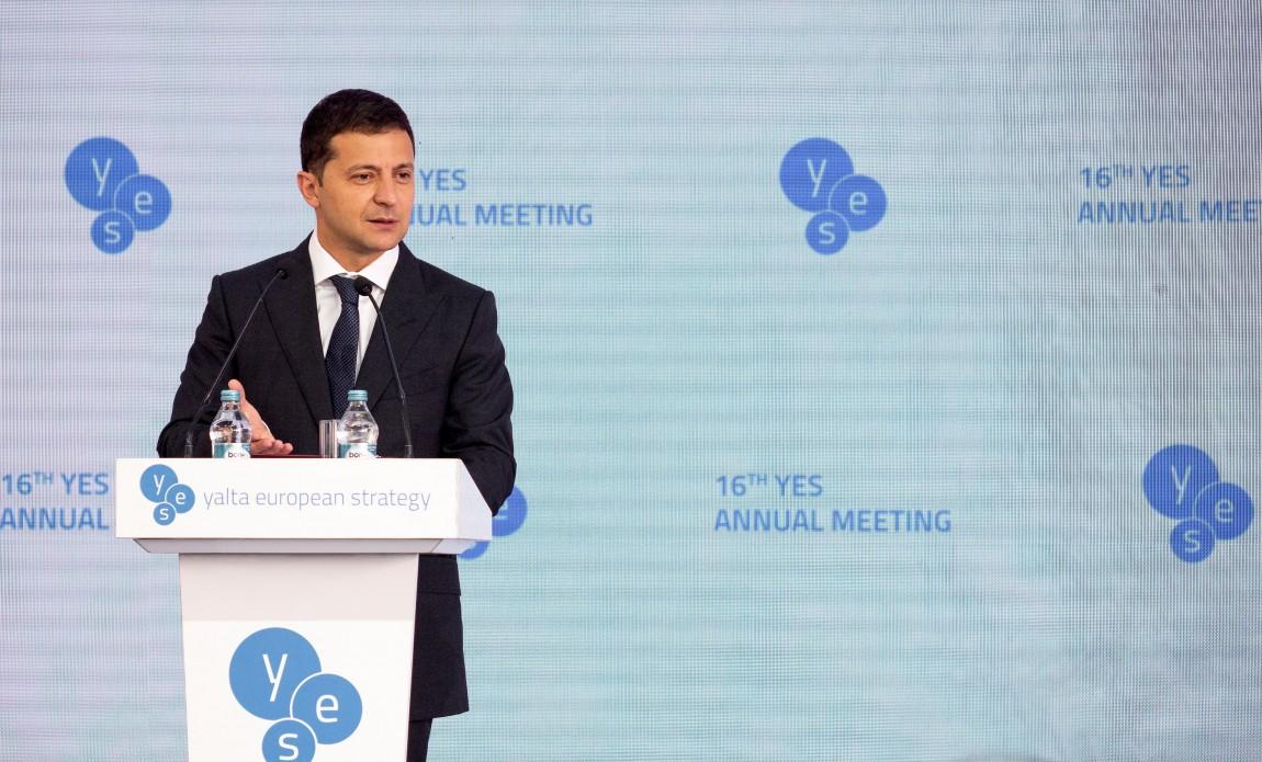 Володимир Зеленський: Санкції проти РФ повинні зберігатися, поки в Україні не буде відновлений мир