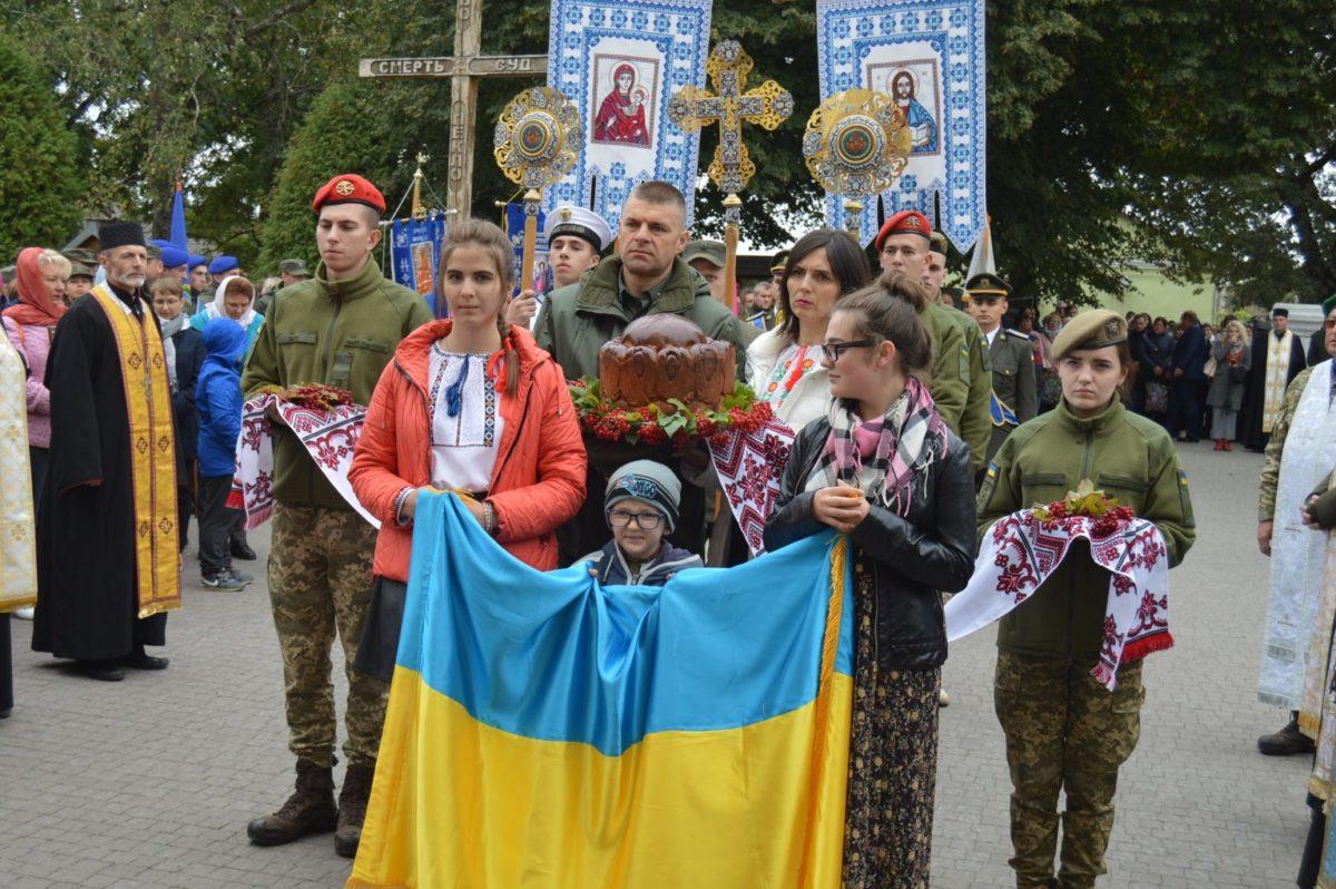 На Тернопільщині відбулося ХІ Всеукраїнське військове паломництво