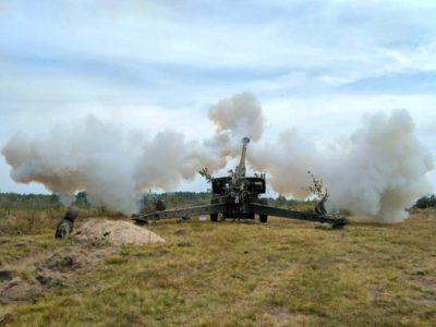 Понад три з половиною сотні бійців дивізіонів резерву вийшли на вогневий рубіж