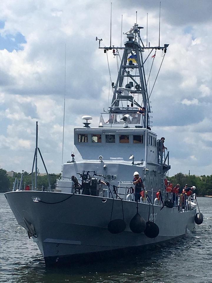 У США завершилася підготовка українських екіпажів катерів класу «Айленд»