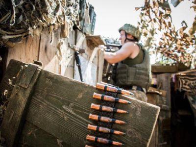 Доба в ООС: 12 обстрілів, двоє українських захисників зазнали поранення