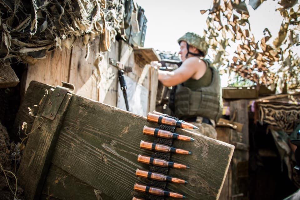 Доба в ООС: окупанти відкривали вогонь біля Водяного та Мар'їнки, втрат немає