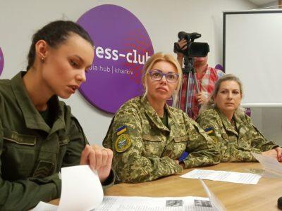 У військових вишах серед курсантів близько 10 відсотків дівчат