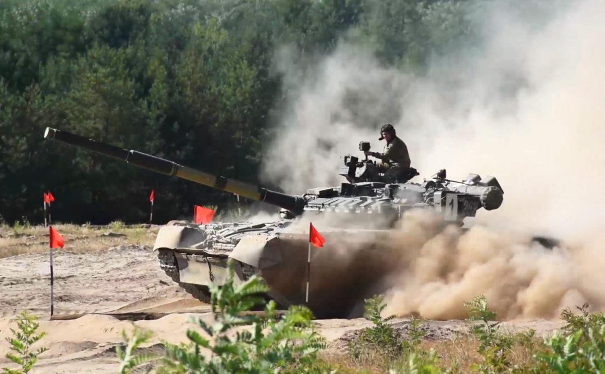 Водіння танків наосліп