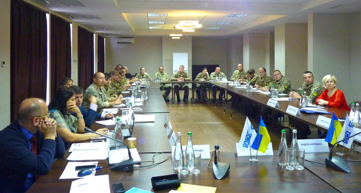 У Дніпрі проходить семінар ОБСЄ з демократичного цивільного контролю над ЗС України