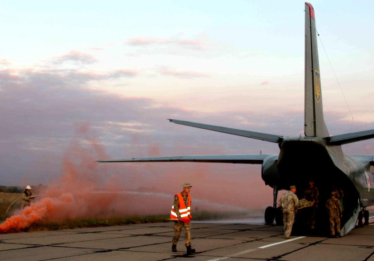 «Пожежу» на аеродромі ліквідували за лічені хвилини