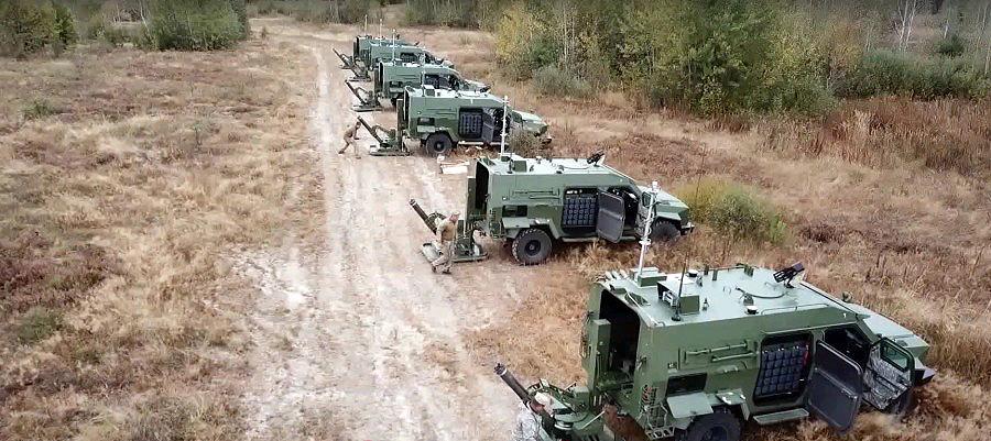 Мобільні міномети БАРС випробовують у військах