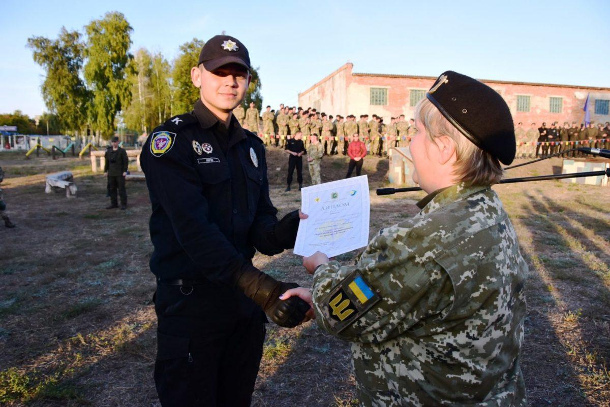 Лазерні бої курсантів із харківських вишів сектору безпеки та оборони