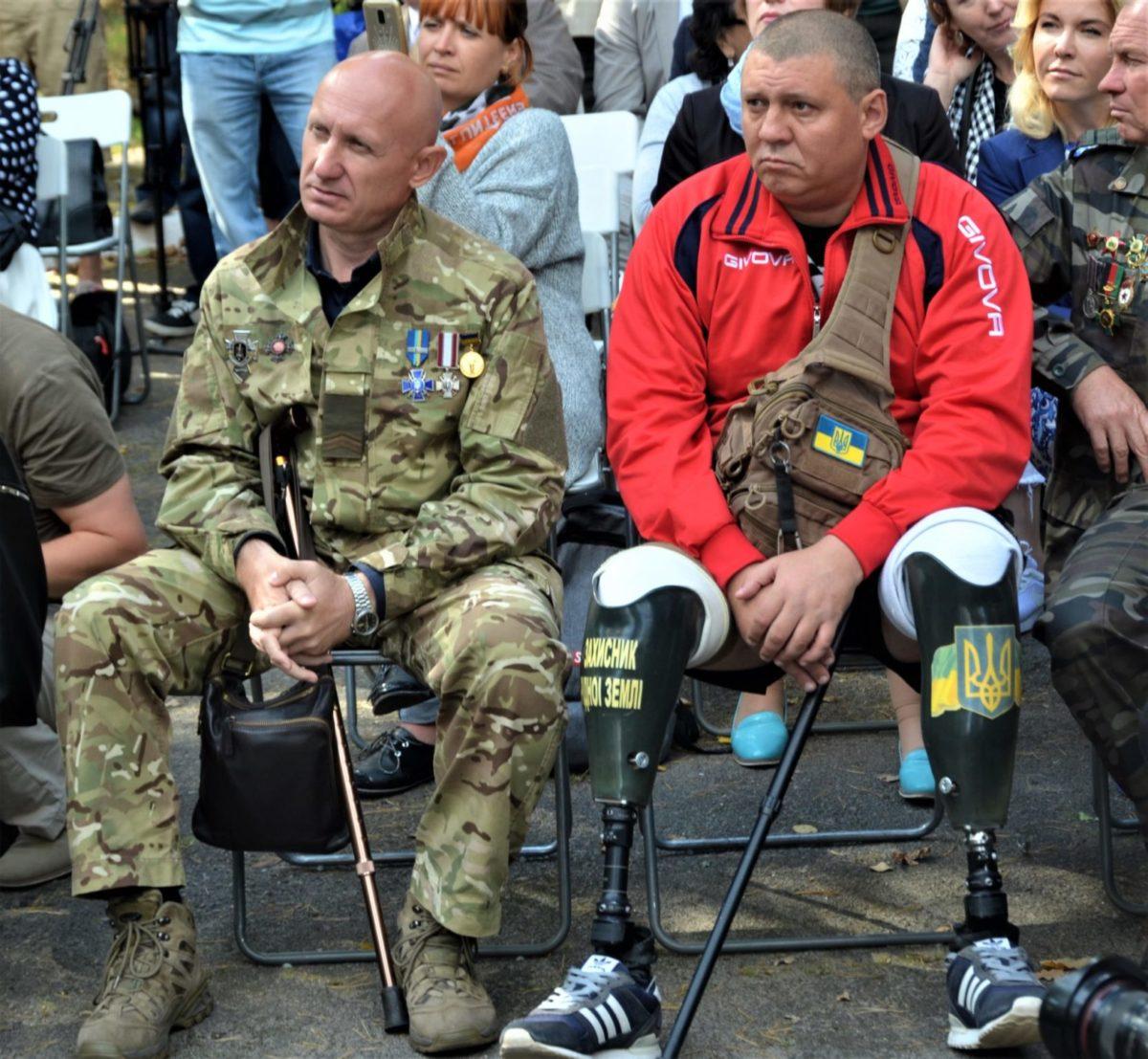 У Пущі-Водиці презентували Центр психічного здоров'я і реабілітації ветеранів війни