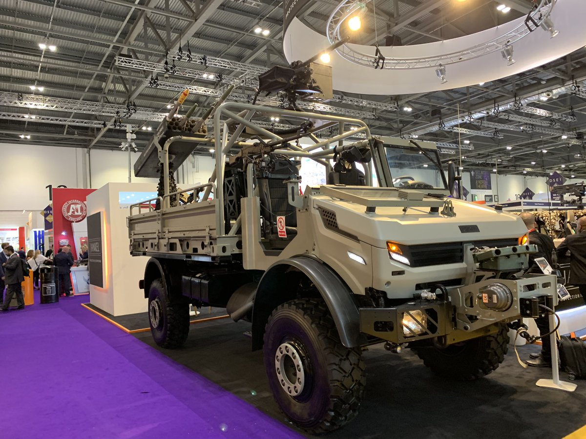 Оборонна виставка DSEI-2019: акцент на штучний інтелект і передові технології