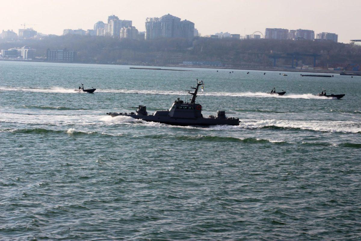 В акваторії Чорного моря розпочались навчання корабельно-катерного складу національних ВМС