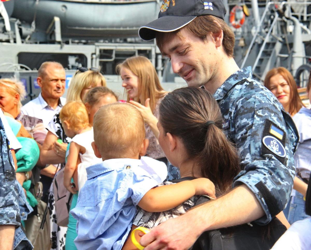Як Одеса моряків зустрічала