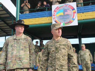 Rapid Trident-2019: на Львівщині розпочалися міжнародні навчання за участю понад 3,5 тисяч військовослужбовців із 14 країн світу