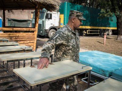 «Допомога Схід»: мобільному госпіталю у прифронтовому Маріуполі передали гуманітарну допомогу на суму 232 тис. грн