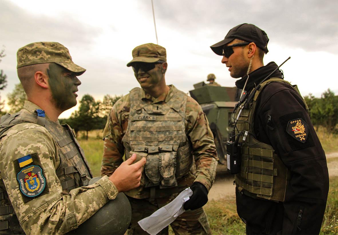 Вперше українські та американські військовослужбовці в складі одного підрозділу