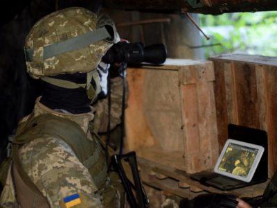 Доба в ООС: 8 ворожих обстрілів, втрат серед українських захисників немає