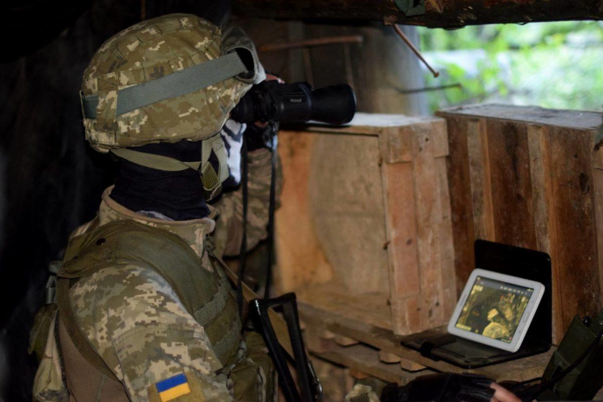 Військовослужбовці ОС знищили з ПТРК транспортний засіб окупантів