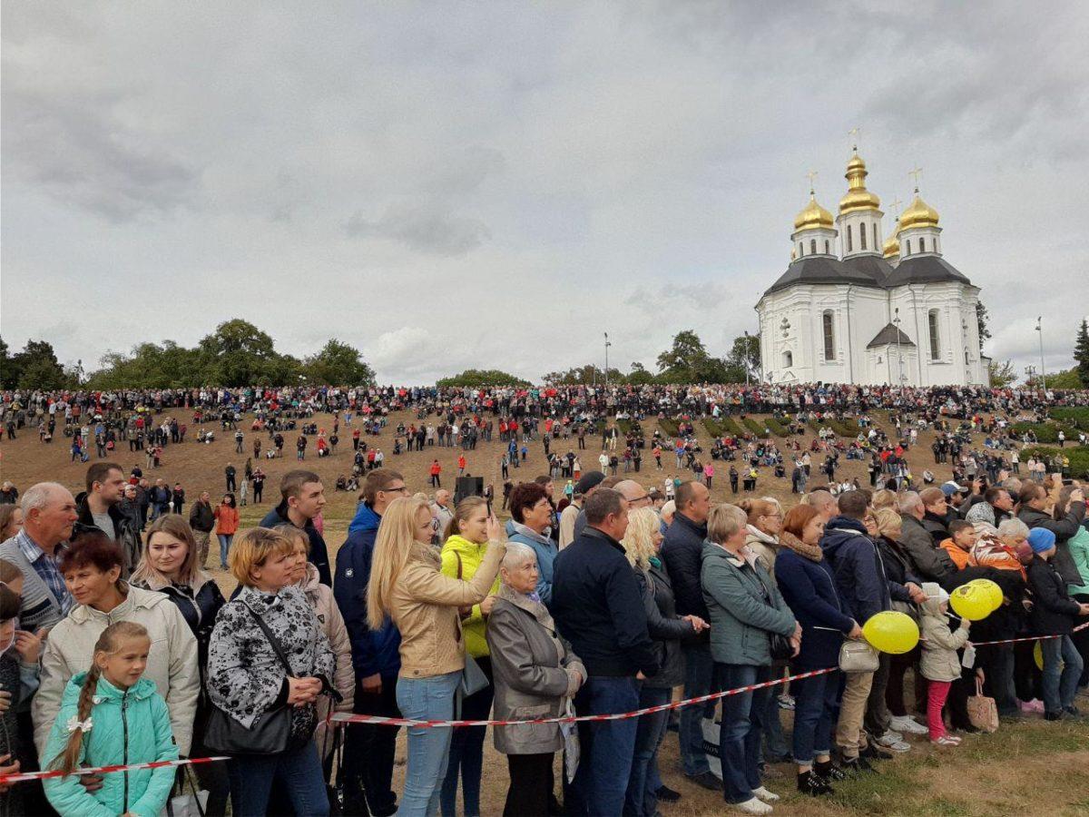 ІV Всеукраїнський фестиваль військових духових оркестрів розпочався в Чернігові