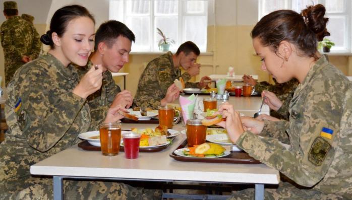 З наступного року планується збільшити вартість добової норми харчування військовослужбовця