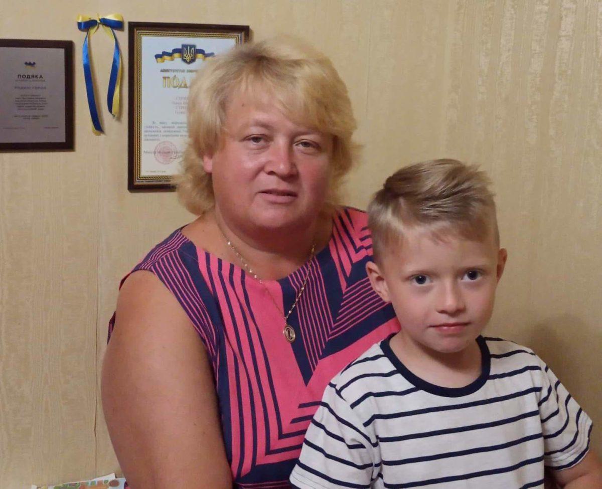 Після загибелі єдиного сина мати десантника Артема Стриженка всиновила хлопчика-сироту