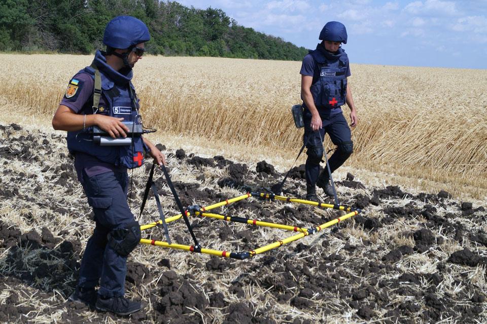 На Луганщині за добу вилучили 90 вибухонебезпечних предметів