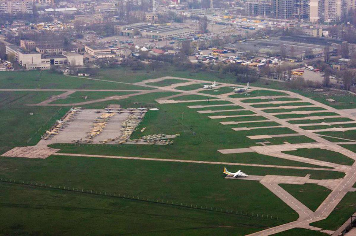 Аеродром «Шкільний» захищають від захоплення