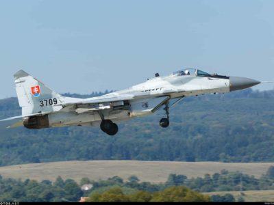 У Словаччині розбився МіГ-29 радянського зразка