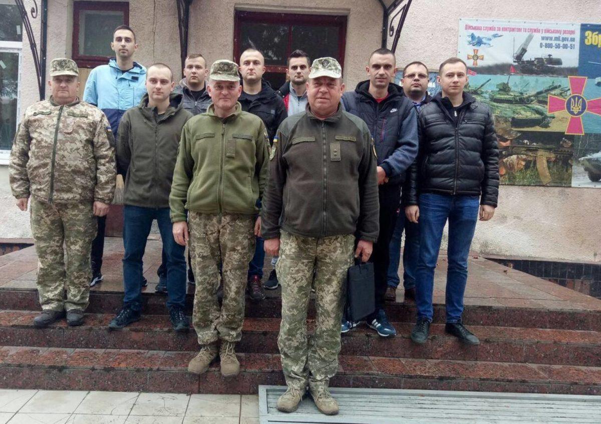 На Тернопільщині триває призов офіцерів запасу на військову службу
