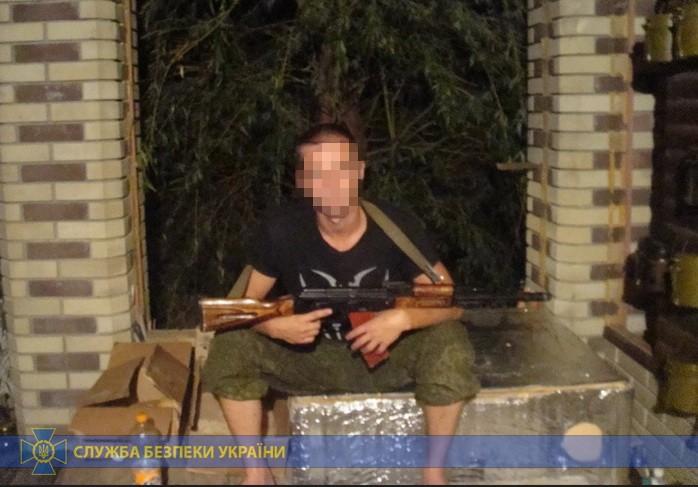У Луганській області затримано бойовика, який обстрілював Щастя