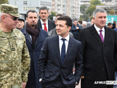 Президент України на виставці «Зброя табезпека– 2019»