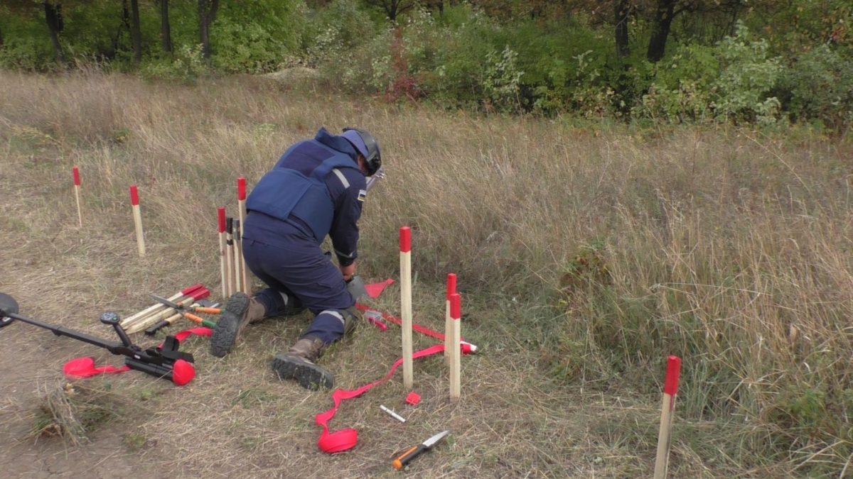На Луганщині за минулу добу вилучили 63 вибухонебезпечних предмети