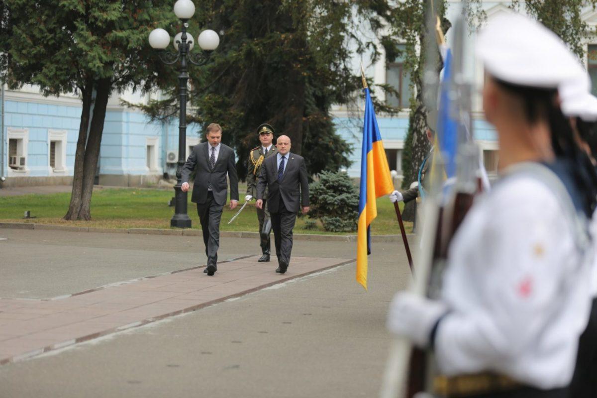 Делегація Міністерства оборони Естонської Республіки перебуває з робочим візитом в Україні