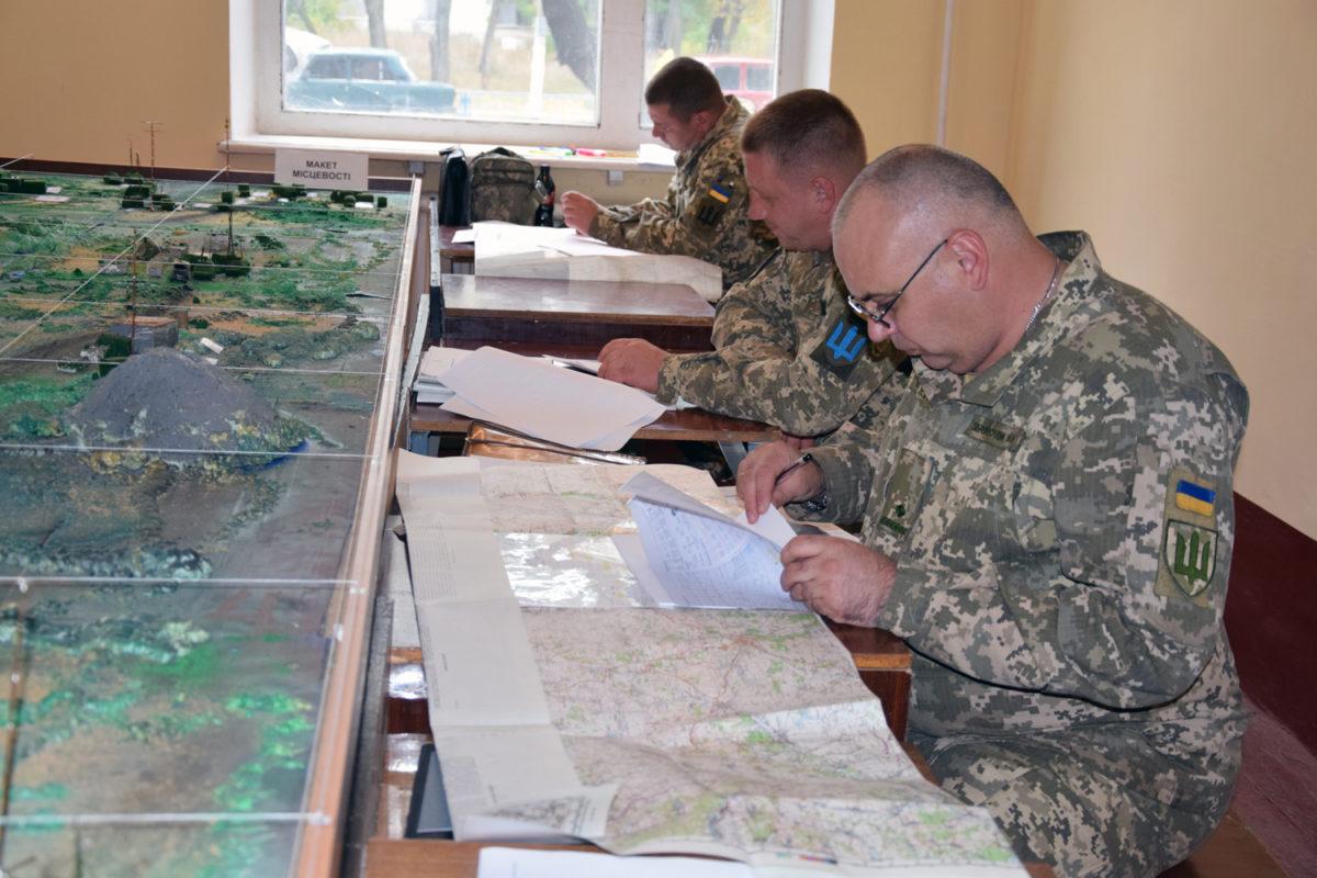 Командири батальйонів і дивізіонів обмінялися досвідом ведення бойових дій