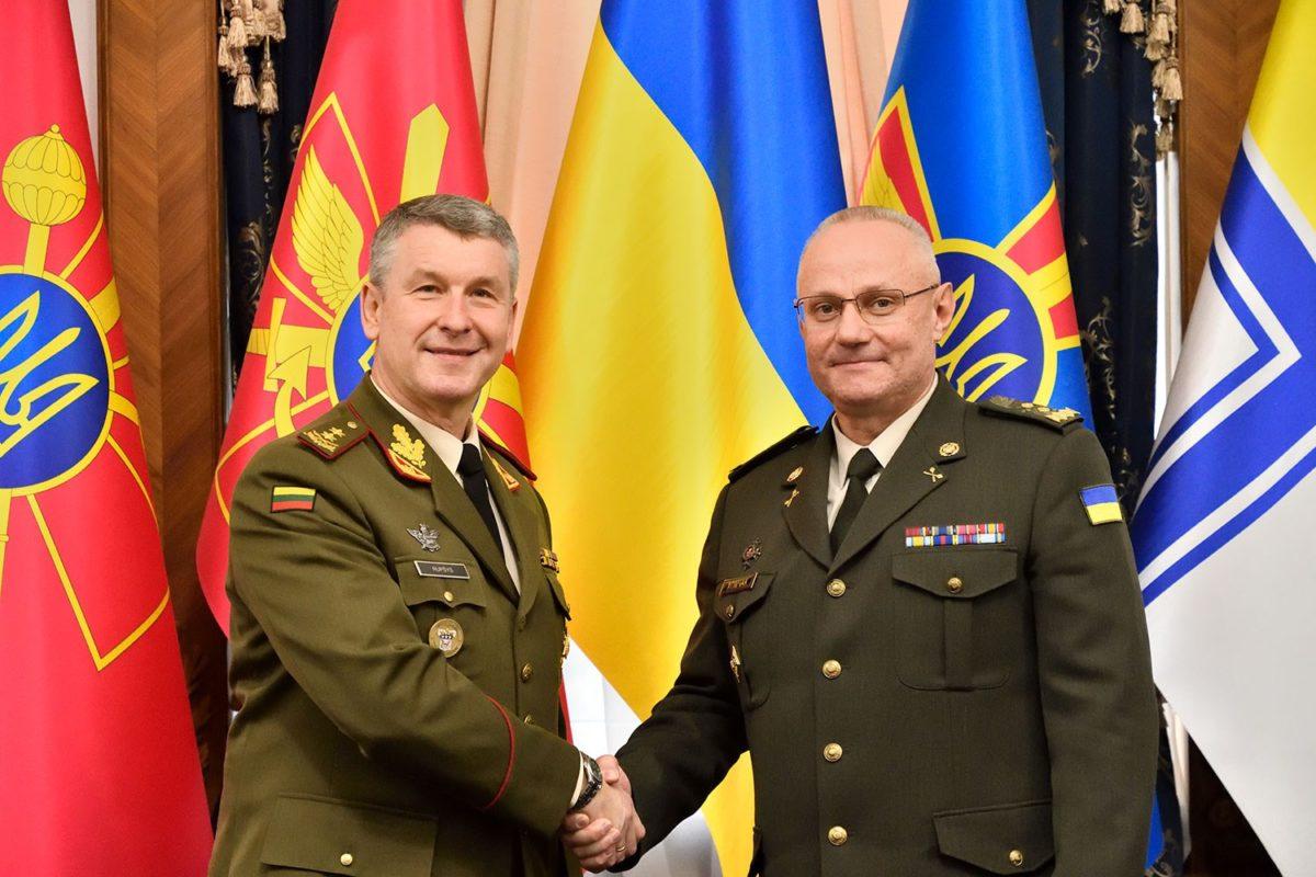 В Україну з офіційним візитом прибула делегація ЗС Литви