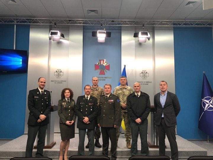 Фахівці інформаційних структур оборонних відомств України та Бельгії обмінялися досвідом розбудови стратегічних комунікацій