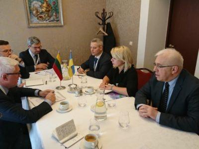 Заступник Міністра оборони України з робочим візитом відвідала Литовську Республіку