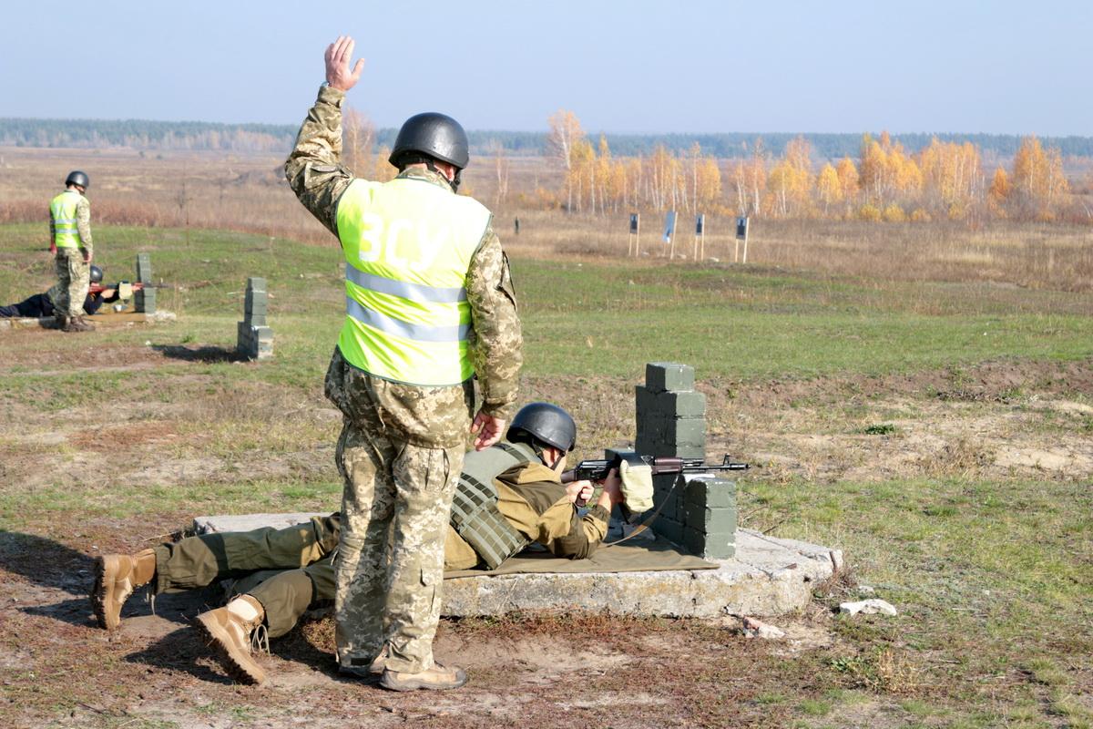 На Харківщині відбулися практичні заняття з резервістами