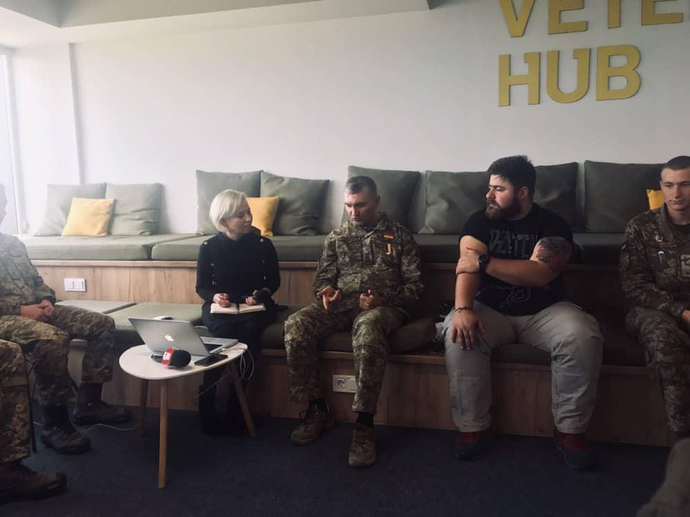 У Veteran Hub розпочався загальнонаціональний урок мужності з Героєм України генерал-майором Ігорем Гордійчуком