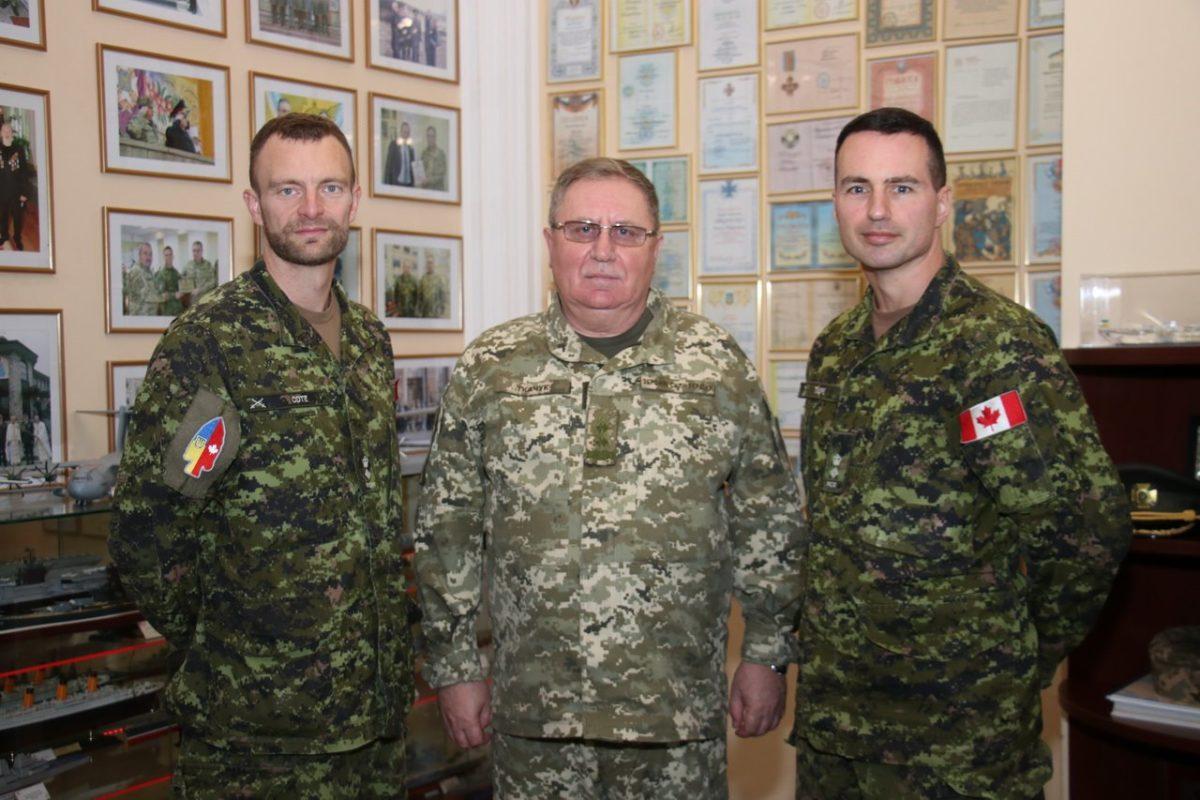 Національну академію сухопутних військ відвідав новий командир операції UNIFIER