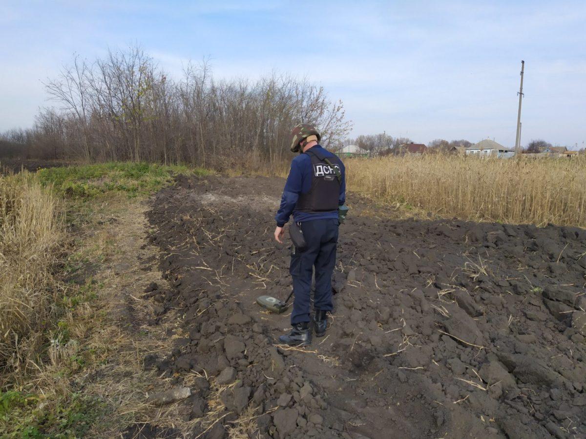 На Луганщині за добу вилучили 62 вибухонебезпечних предмети
