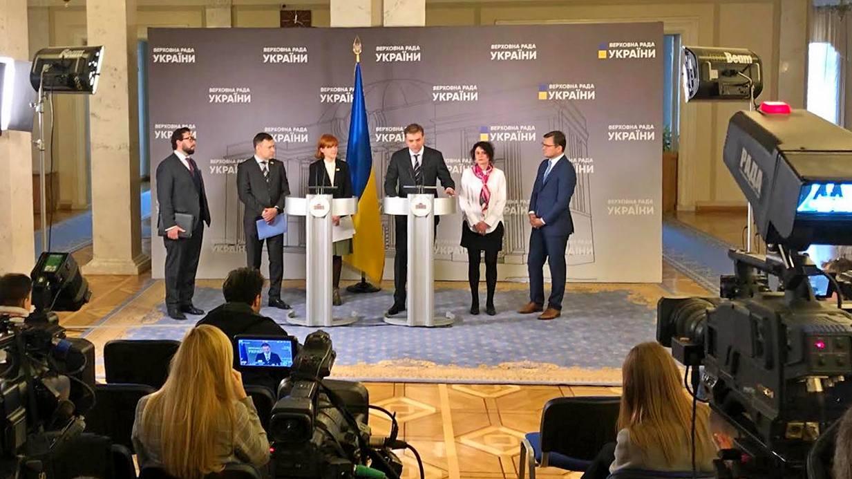 Андрій Загороднюк взяв участь у брифінгу «Євроатлантична інтеграція у вимірі взаємодії Парламенту та Уряду»