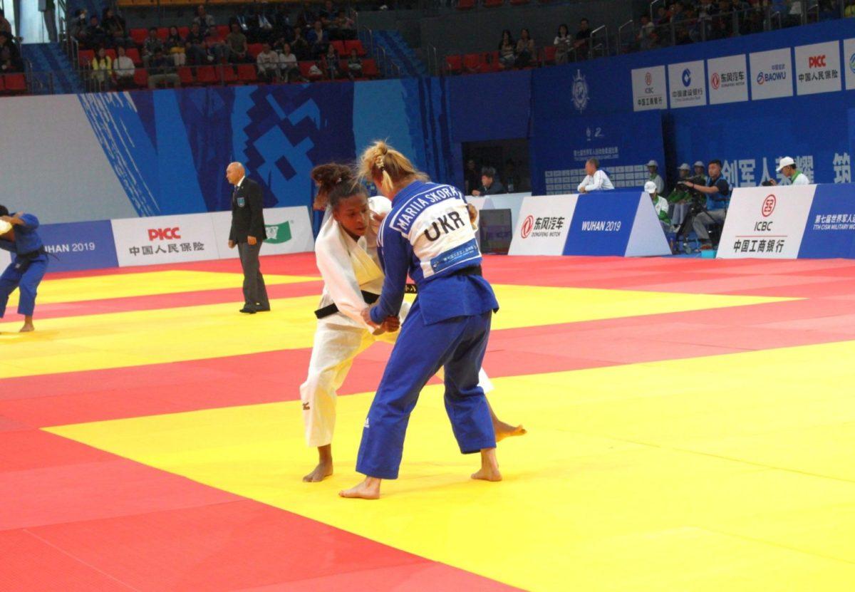 Армійська спортсменка Марія Скора здобула першу медаль 7-х Всесвітніх Ігор серед військовослужбовців